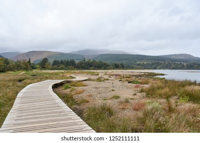 Walkpath in Isle of Arran, Scotland