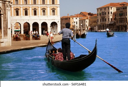 Walks on gondolas