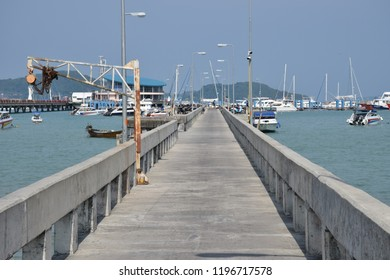 the walkway at Pier