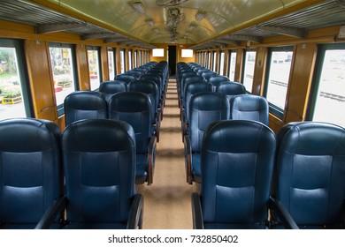 walkway in the train
