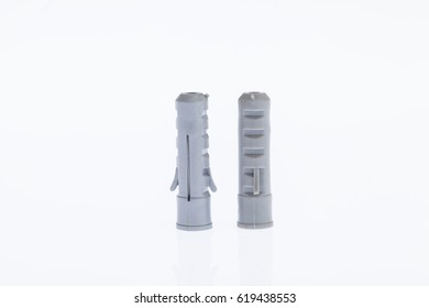 Wall Anchors on white background