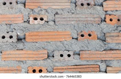 wall background, Brick background, Brick Mortar Material Wall