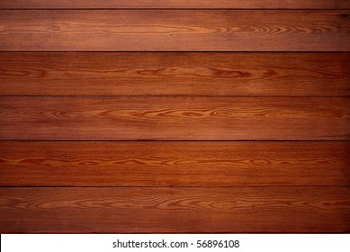 Wall from boards