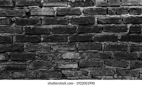 the wall brick an already old