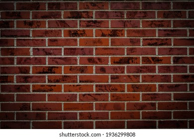 Of the wall of brick image (background material)