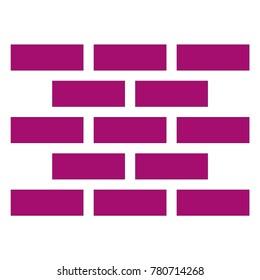 wall of bricks icon