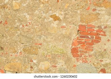 Wall in Calvi