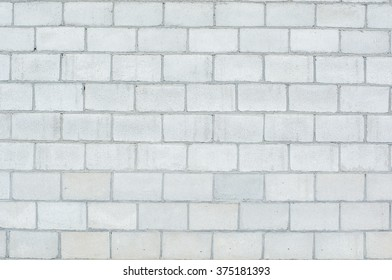 wall of cinder block