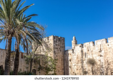 The wall city of Jerusalem