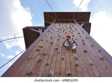 Wall Climbing Tower