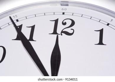 Wall clock macro