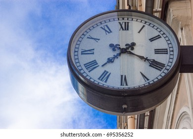 wall clock on the street