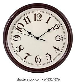 Wall clock vintage design