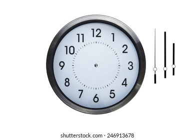 wall clock without hands so you can make up what ever time you want on clock