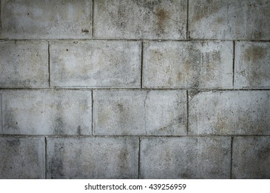 The wall of concrete gray background