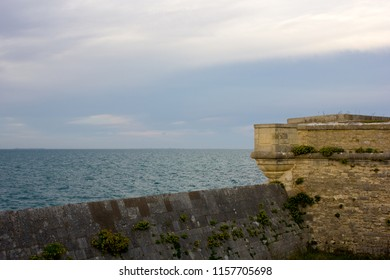Wall of the Fortifications of Vauban, France