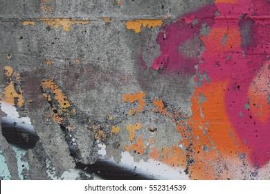 Wall with Graffiti 6