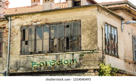 Wall Graffiti to Boredom