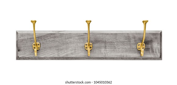 Wall hanger on white background, including clipping path