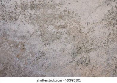 A wall with harmful, spreading black mold