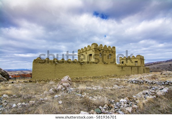 The wall of The Hattusa that is The capital of the Hittite Civilization, Corum
