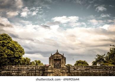 Wall at Intramuros