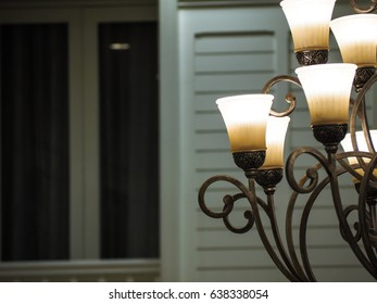 Wall lamp and chandelier