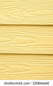 Wall, Light Yellow, Wood Textured. Idea of House Coloured, Interior or Building. Background and Wallpaper.