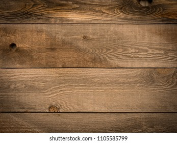 A wall made of wood