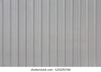 Wall metal sheet fence
