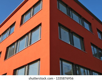 Wall of a moder building