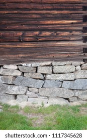 Wall of old building texture background