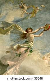 wall painting detail: Venus