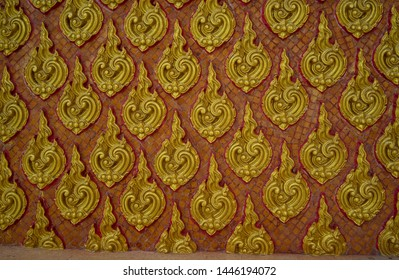 Wall pattern in the temple