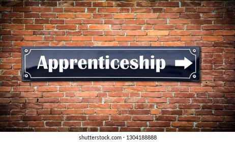 Wall Sign to Apprenticeship