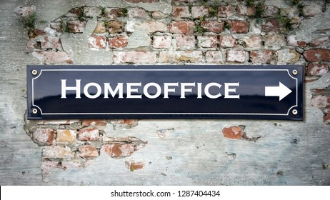 Wall Sign to Homeoffice