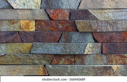 Wall of slate. Very high quality texture background.