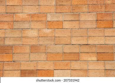 wall of small bricks
