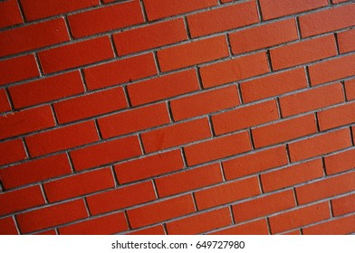 wall stone red block