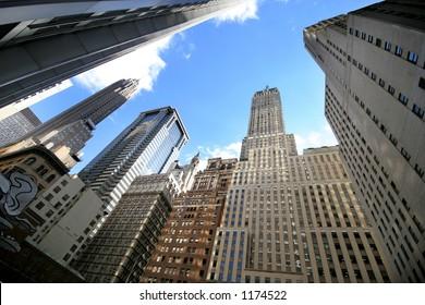 wall street - new york - manhattan - new york city