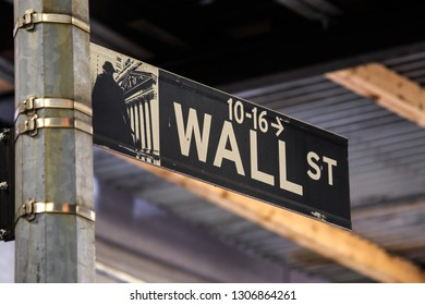 Wall Street New Yourk, center of the world economy