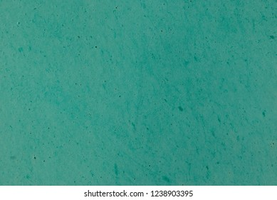 Wall surface painted with pepermint color