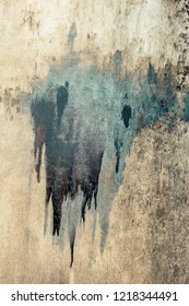Wall surface as a simple grunge background  texture pattern