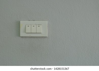 Wall switch light in house