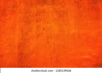 Wall texture  background. Plastered  and dyed wall surface.