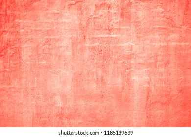 Wall texture  background. Plastered  and dyed brick wall surface.