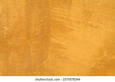 wall texture painted yellow