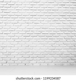 wall white texture brick background
