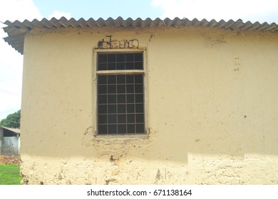 Wall with window
