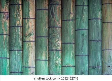 Wall of wood